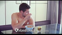 ManRoyale Morning fuck with Griffin Barrows and... Thumbnail