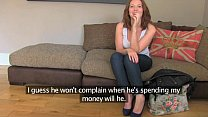 FakeAgentUK Attractive redhead gets surprise cr...