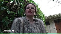 Interview casting of a mature french slut