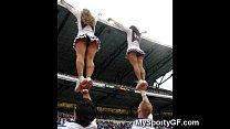 Real Teen Cheerleaders! Thumbnail