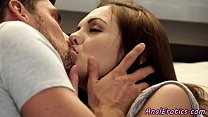 Glamcore beauty assfucking after kissing
