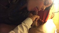 T&A 290 - White Girl, doGgystyle in Satin Lingerie Thumbnail