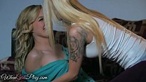 When Girls play - Two hot lesbians have a great...
