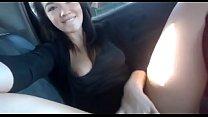 รถติดมันทำให้คนเงี่ยน สาวชุดดำเอามือสอดใส่กางเกงในเกี่ยวเบ็ดใส่เสียวน้ำแตกยังไม่ไฟเขียวเลย