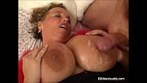Massive Boobs Covered with Cum