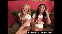 Cock For Two - Eva Angelina vs Crista Moore