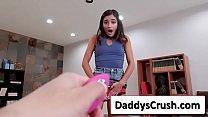 Emily Willis brunette teen hot sluty girl use s...