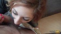 HUNT4K. Rothaarige für Geld vor ihrem Freund gefickt Thumbnail