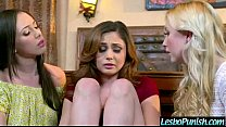 (ariana jenna samantha) Sexy Lesbo Girl Get Sex Toy Punish By Mean Lez video-11