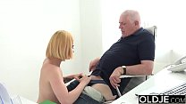 Nick Licks Young Pussy and Sticks His Old Man d... Thumbnail