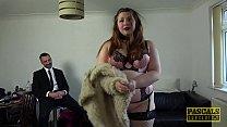 Submissive BBW Estella Bathory punished by Pasc...