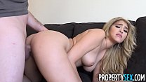 PropertySex - Curvy real estate agent fucks her... Thumbnail
