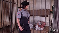 Crazy Hot Prison Guard Patty Michova Fucks Pris... Thumbnail
