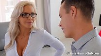 Cracking Busty Milf Nina Elle Fucks Buyer To Cl...