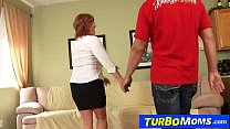 Download video bokep Old with young sex with horny redhead cougar Sarah 3gp terbaru