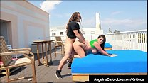 Curvy Cuban Angelina Castro Is Pussy Pounded On...