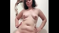 Nude pinay gets ready for new client