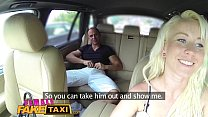 Fake Female Taxi Creampie internal payment for ...