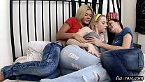 Ivanka Dani and Inna HD; lesbian, group, blonde, toy, hairy, pornstar, hd, 1080p, 720p Thumbnail