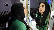 Veena Malik in Vanity Van