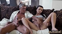 Skinny granny anal old and dad daddy father pat...