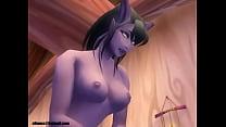 World of Warcraft draenei and nightelf porn (ellowas) Thumbnail