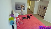 StepBro Slips His Cock Into Step Sisters Teen P...