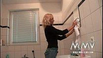 MMV Films German amateur couple sex in the bath...
