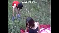 two polish girls picnic Thumbnail
