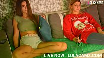 Girl Masturbates Next To Flatmate While Girlfriend Isn't Looking #9 Hot as fuck | LIVE NOW : LULACAMZ.COM