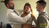 Horny young doll Rhiannon Ryder gets her pussy ...