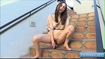 Gorgeous amateur babe Brooke please her juicy p... Thumbnail