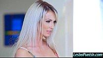 (Brooke Paige & Marsha May) Lez Girls In hard Punish Sex Tape Using Sex Toys clip-04
