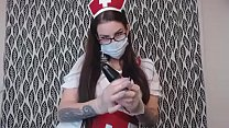 Preview Clip Hot Tattooed BBW Nurse Gives Good ...