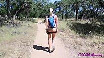Flashing on hiking trail leads to Brooke swallo...