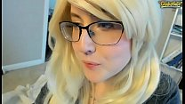 Big Clit Zoom Webcam Recording Of Sexy Blonde A... Thumbnail