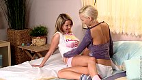 Sensual lesbian scene with Zoe and Carie by Sap...