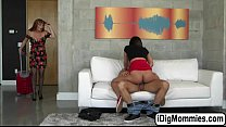 Hot babe Amara fucks bf and her stepmom in thre... Thumbnail