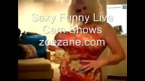 Funny Fake Tits & Ass Zoe Zane Balloons Live Cam Show
