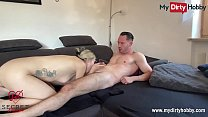 MyDirtyHobby - Gorgeous blonde gets a huge cums...