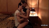 Hot Young Couple Having Sex
