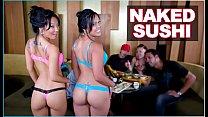 BANGBROS - Naked Sushi With Asian Pornstar Asa ... Thumbnail