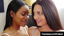 Mature Lover Mindi Mink Instructs Ebony Princess Jenna Foxx!