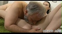 Old dude fucks young wet pussy Thumbnail