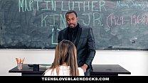 TeensLoveBlackCocks - Big Black Dicking On MLK DAY Thumbnail