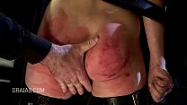 Blonde slave broken in