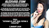 Download video bokep Hotkinkyjo just anal fisting & prolapse 3gp terbaru