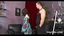 Petite tiny girl drilled Jessi Palmer 7 91