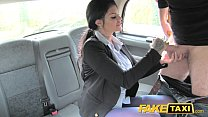 Fake Taxi Big tits long hair and high heels