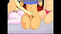 Hentai teen foursome